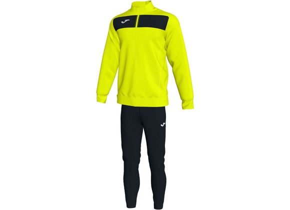 Joma Academy Tracksuit Yellow/Black Adult