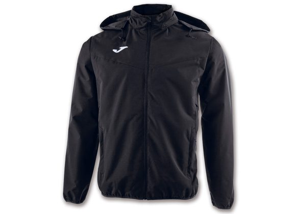 Joma Bremen Rain Jacket Black Adult
