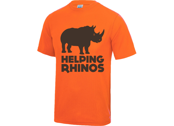 Helping Rhinos Running Tee