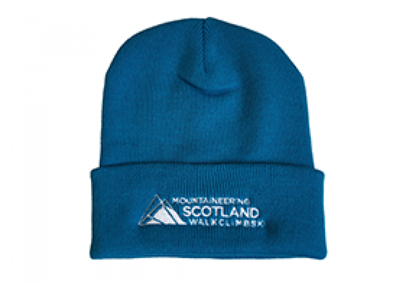 Mountaineering Scotland beanie - Teal